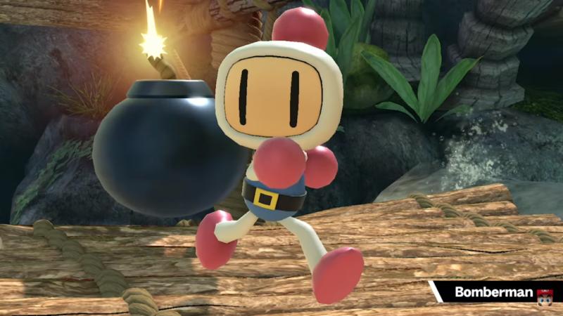 Super Smash Bros. Ultimate - trophée assistance bomberman