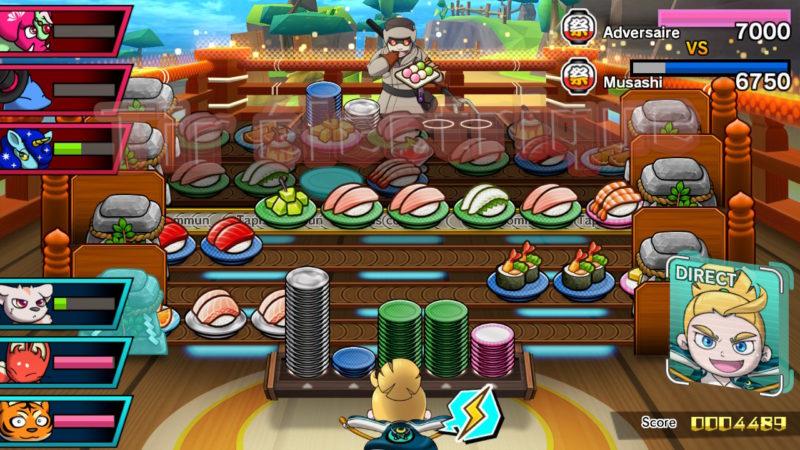 Sushi Striker - Bonne pile de vaisselle
