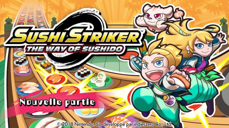 Sushi Striker - Ecran titre