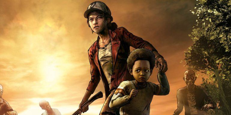 The Walking Dead saison 1 key art