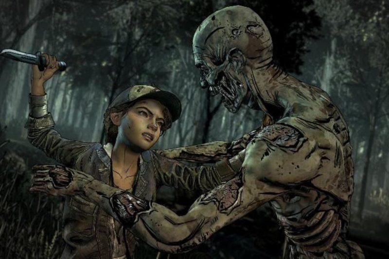 Telltale's The Walking Dead: The Final Season Clem vs zombie