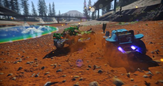 Test onrush - course