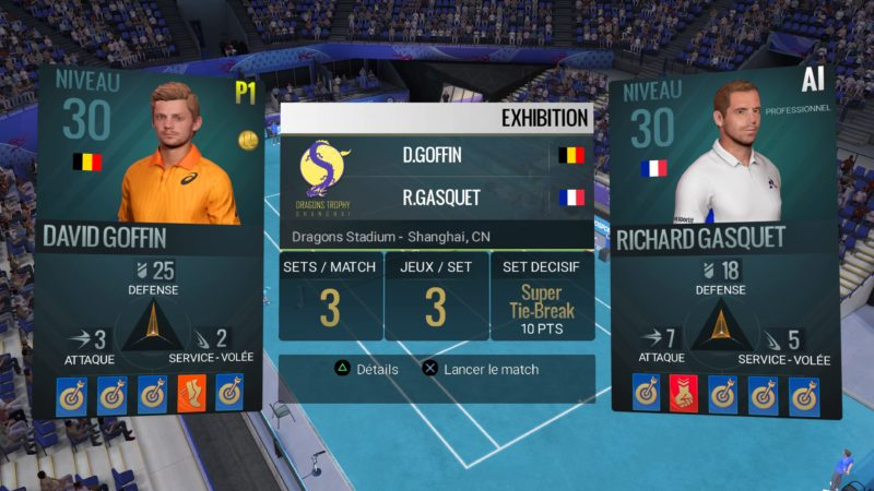 Test Tennis World Tour - match