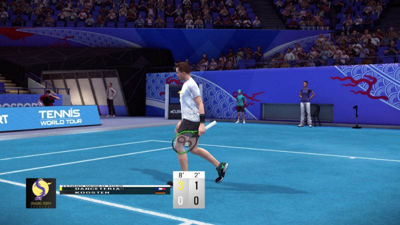 Test Tennis World Tour - Bug de boite de texte
