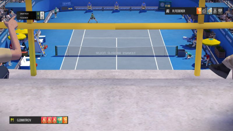 Test Tennis World Tour - bug caméra 2