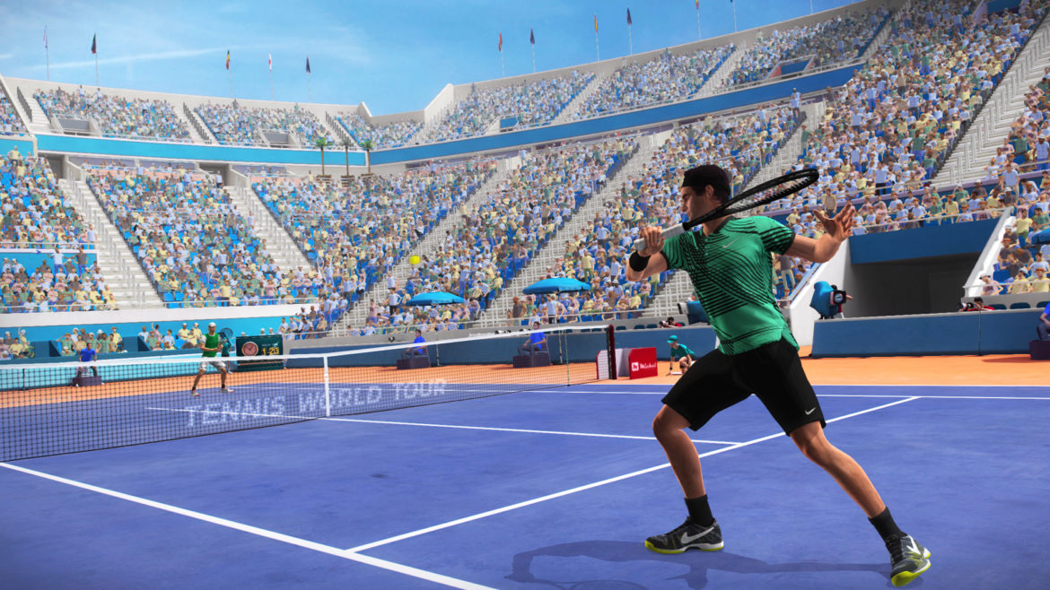 Test Tennis World Tour - federer