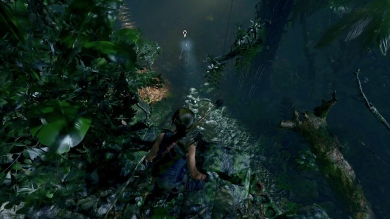 Tomb Raider furtivité