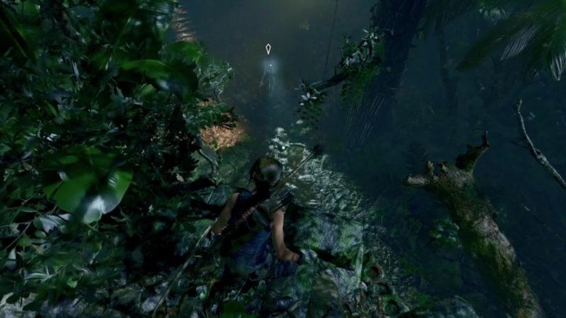 Tomb Raider furtivité