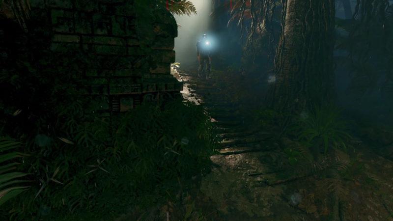 Tomb Raider piège