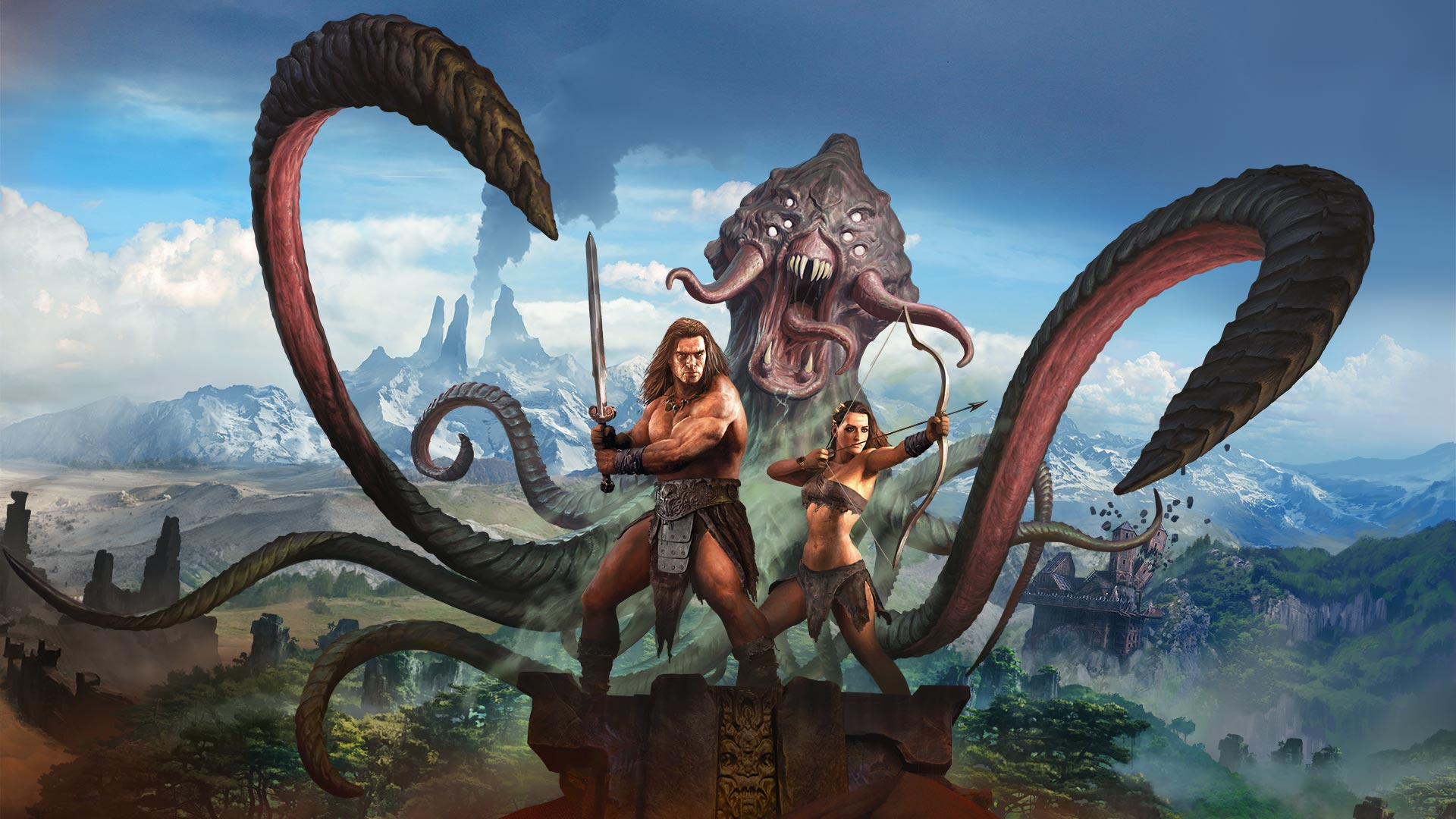 Conan Exiles disponible lors du PlayStation Plus du mois d'avril 2019