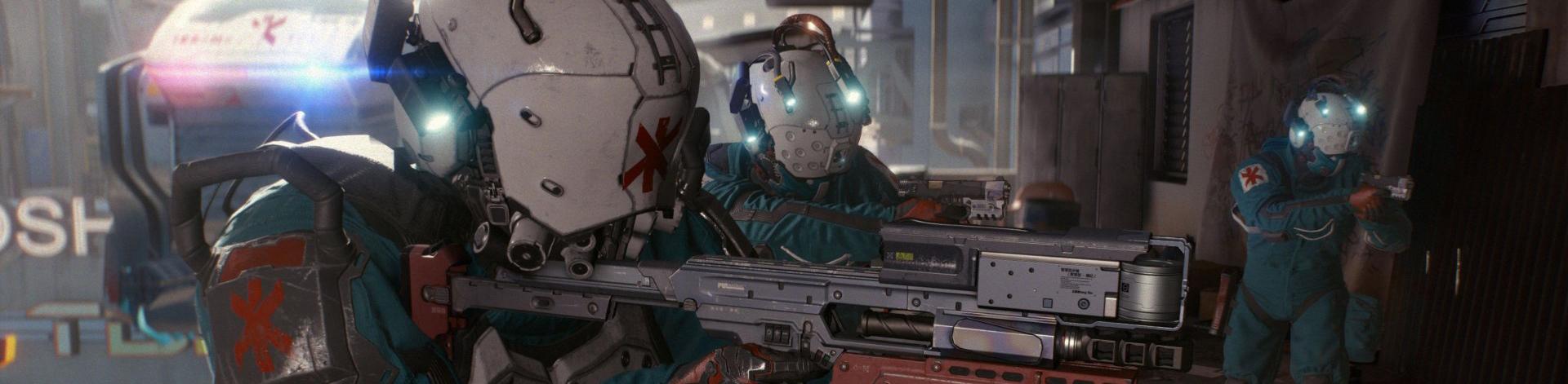 Cyberpunk 2077 soldat