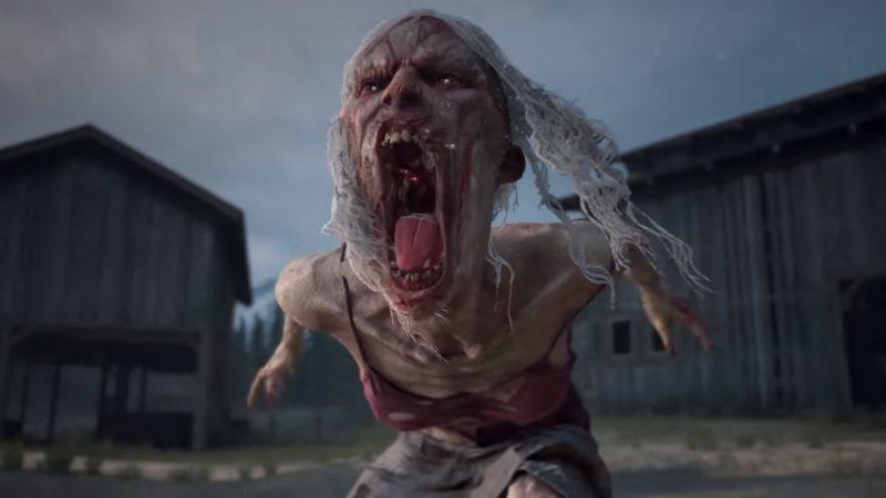 days gone - zombie playstation 4