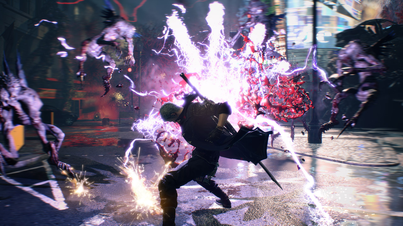 Devil May Cry 5 combat