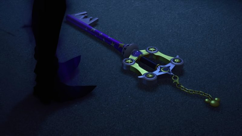 e3 2018 kingdom hearts III - keyblade Aqua