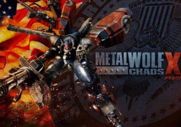 Metal Wolf Chaos XD key art