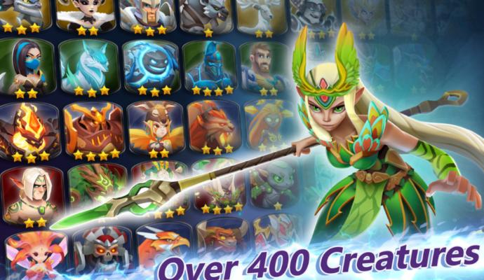 Might & Magic 400 creatures