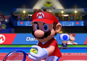preview mario tennis aces - mario au service