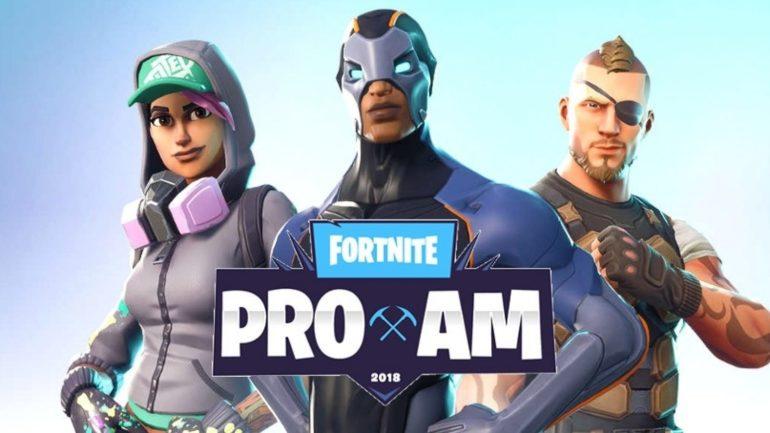 Tournoi Fortnite de l'E3 2018
