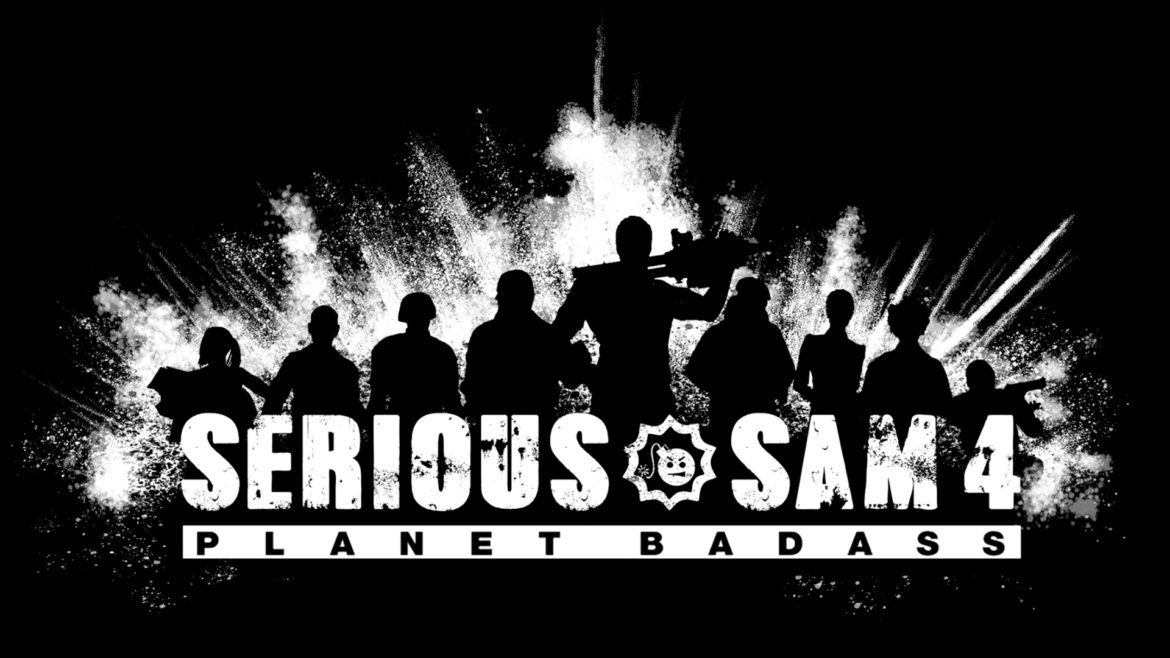 Serious Sam 4 Planet Badass Logo