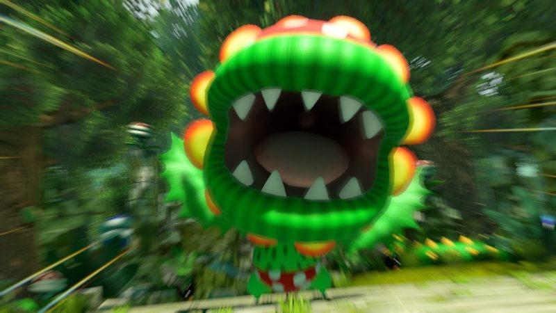 test mario tennis aces - plante carnivore