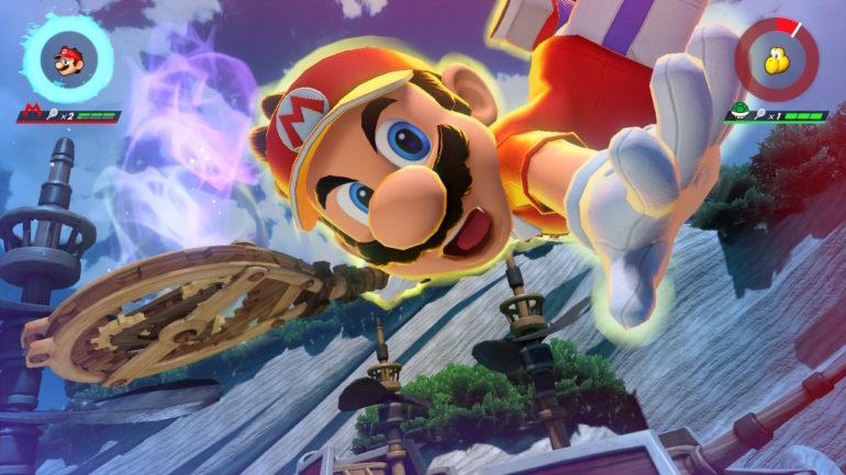mario tennis aces - Mario Super Frappe Instinct