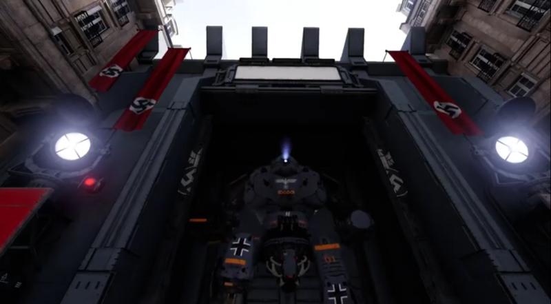 Wolfenstein Cyberpilot robot