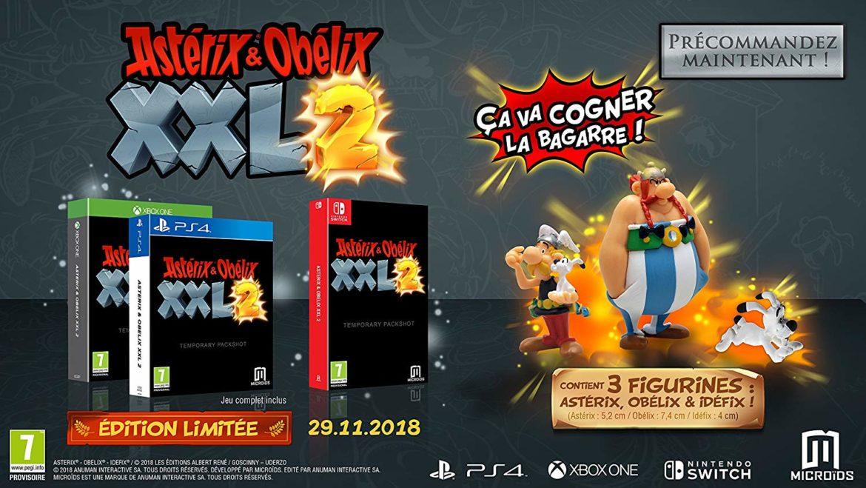Astérix & Obélix XXL 2 édition limitée