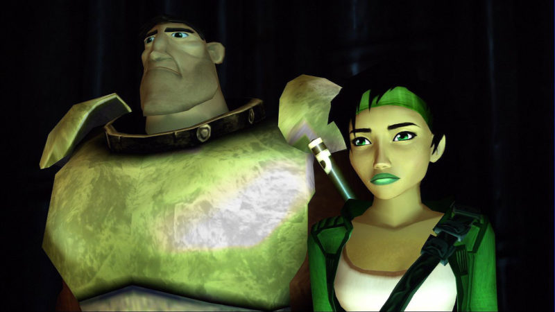 Beyond Good & Evil Jade et Double H