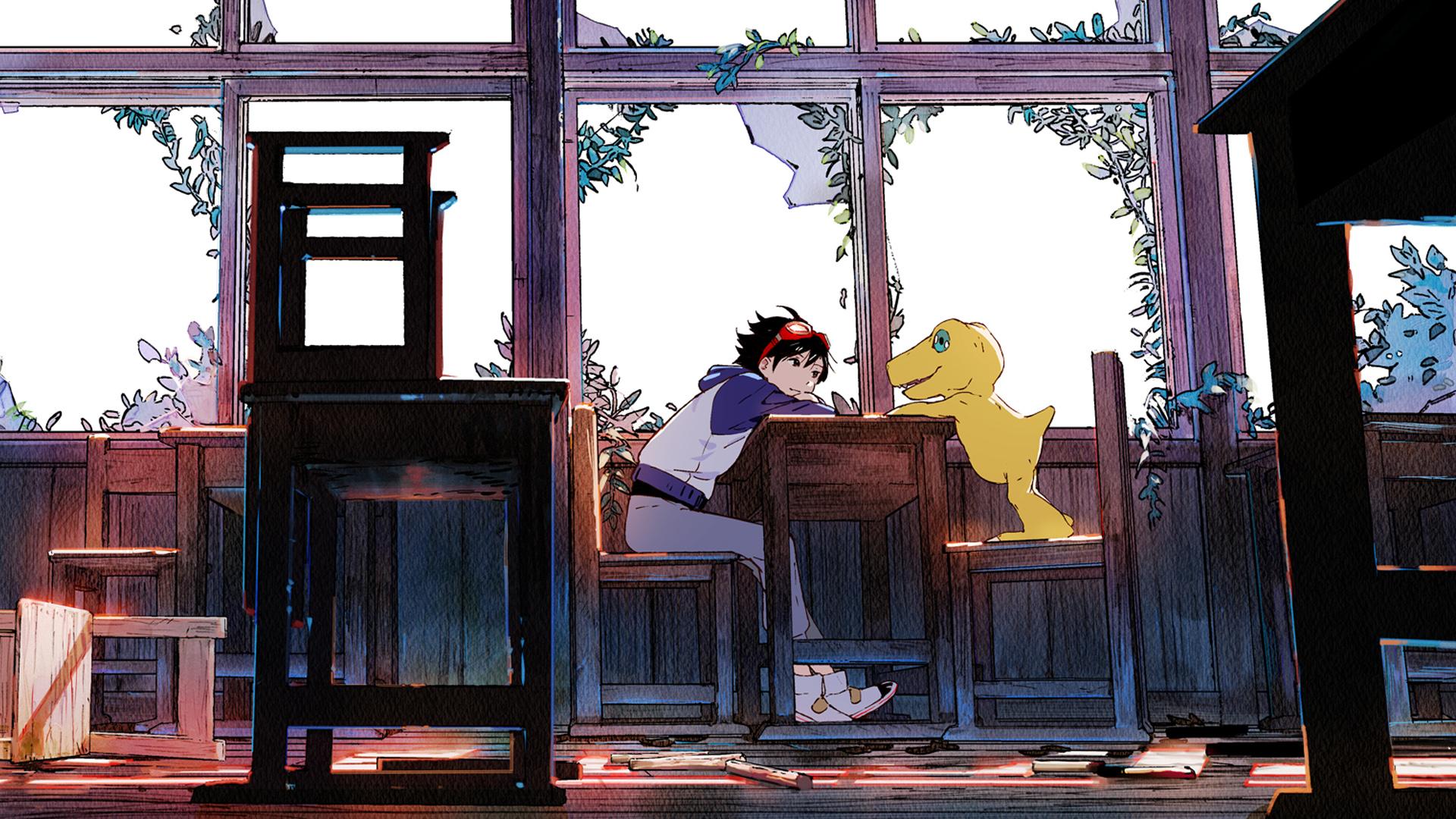 Digimon Survive Artwork
