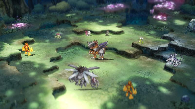 Digimon Survive combat