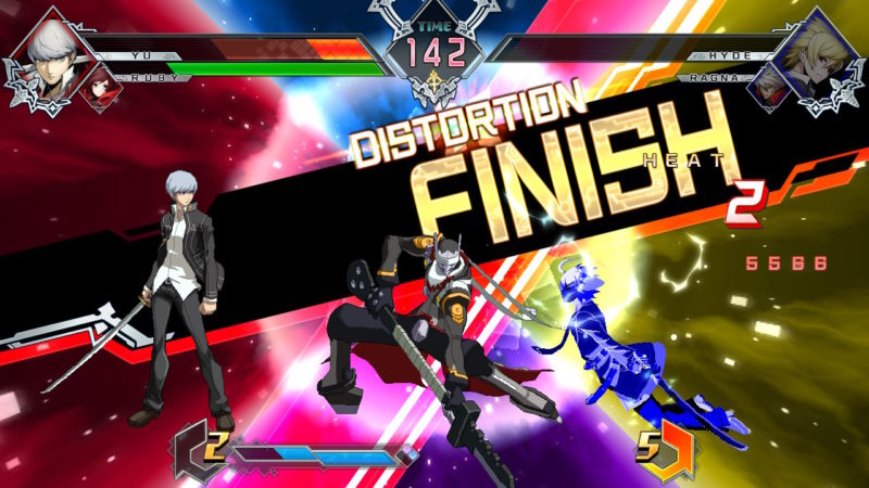 Blazblue Cross Tag Battle - Distorsion Finish