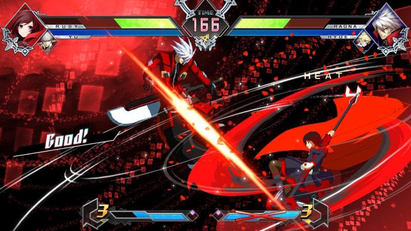 Blazblue Cross Tag Battle - Fluide mais avec gros pixels