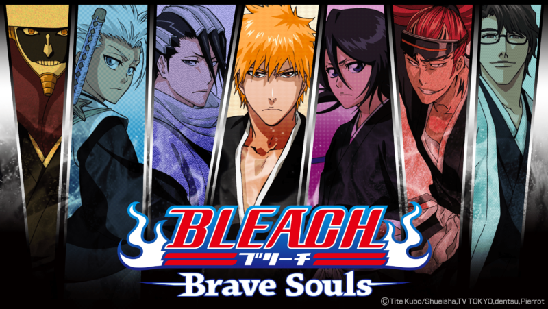 KLab Games Bleach: Brave Souls key art