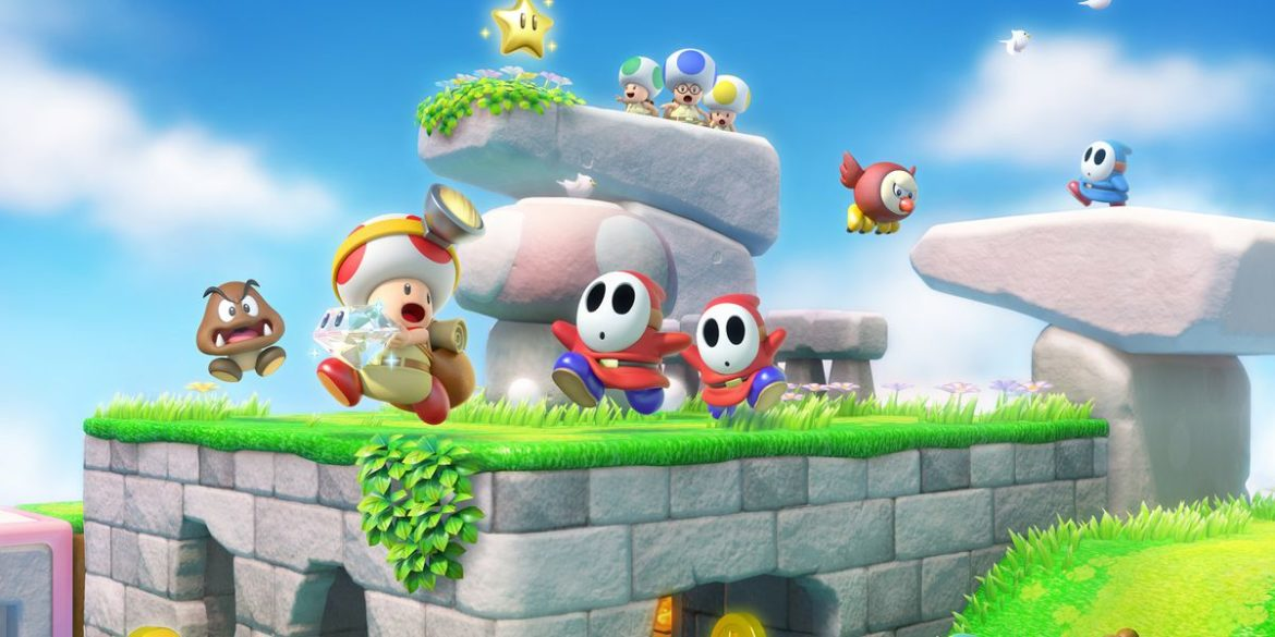 Captain Toad: Treasure Tracker personnages