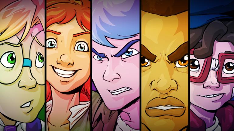 Crossing Souls - protagonistes principaux