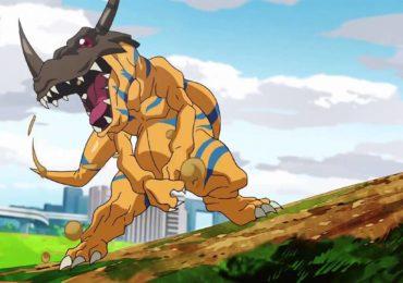 Digimon Survive - Greymon anime