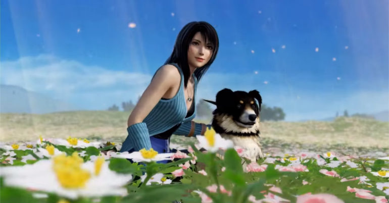 Rinoa Heartilly et Angelo Dissidia Final Fantasy Nt