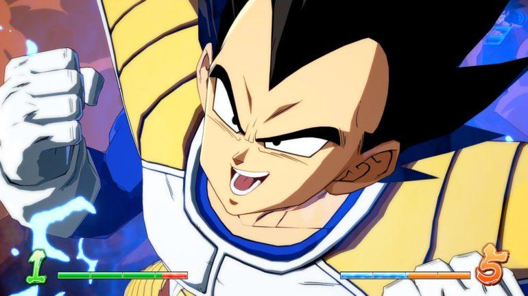 Dragon Ball Fighter Z - Vegeta forme normale