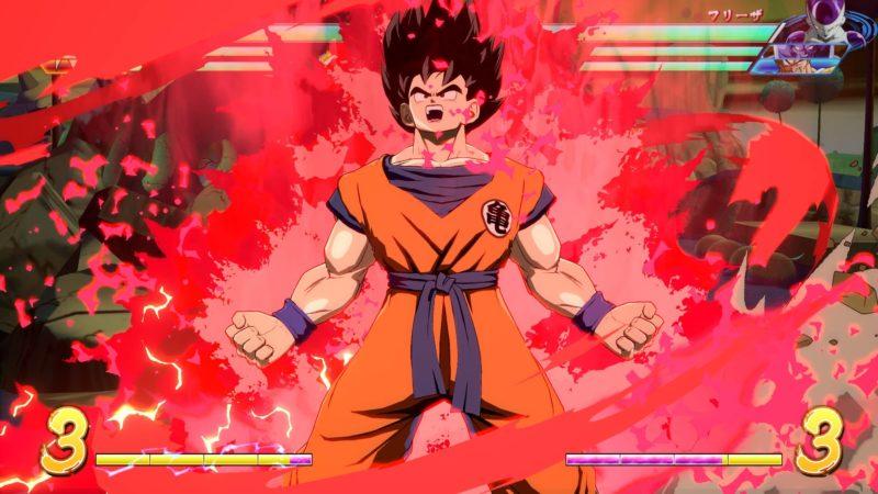 Dragon Ball FighterZ - Goku et son kaioken