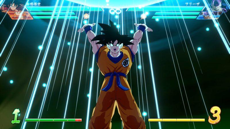 Dragon Ball FighterZ - Goku prépare le genkidama bilan 2018