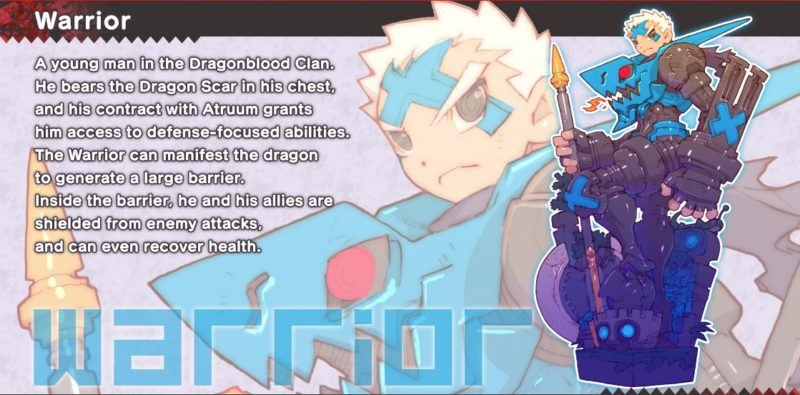Dragon Marked for Death Guerrier