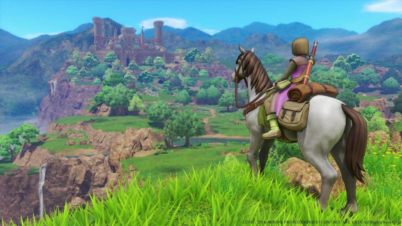 Dragon Quest XI Onze à cheval