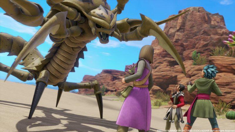 Dragon Quest XI boss