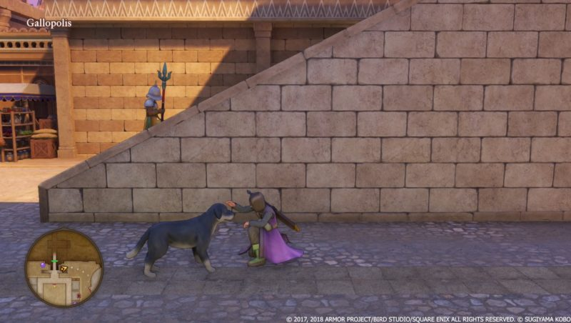 Dragon Quest XI Gallopolis