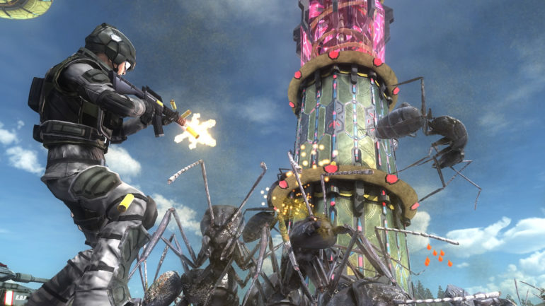 Earth Defense Force 5 - Combat titanesque