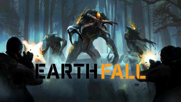 Earthfall - visuel des aliens et humains