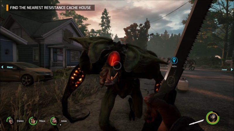 Earthfall - visuel de l'interface en jeu 2