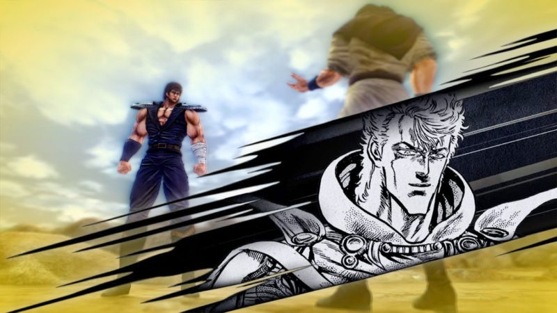 Fist of the North Star: Lost Paradise striker