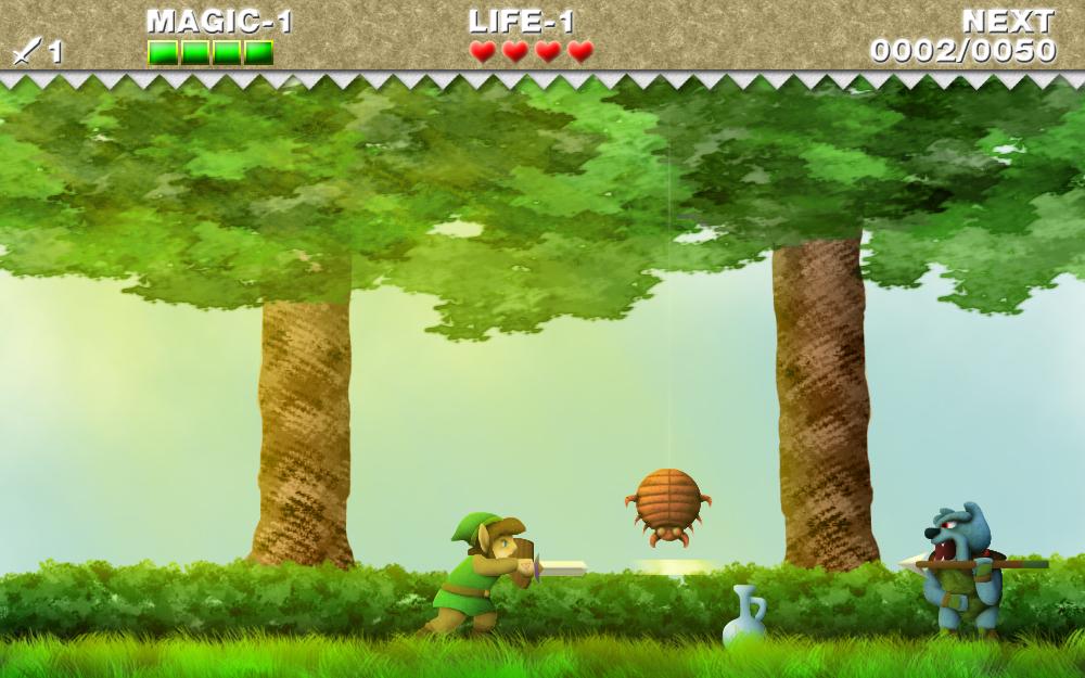 Inti Creates rêve de Zelda II