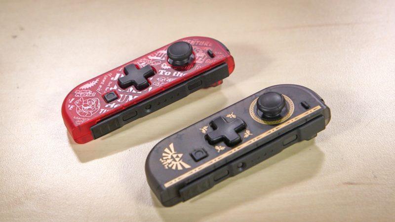 Joy-Con Hori - Mario et Zelda